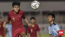 Babak I: Timnas Indonesia U-16 Ungguli Brunei 2-0