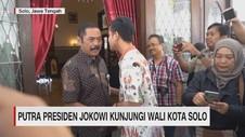 VIDEO: Putra Presiden Jokowi Kunjungi Walikota Solo