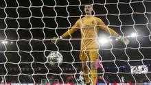 Madrid Kalah, Netizen Ejek Courtois Dibobol PSG Tiga Gol