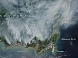 Ini Penampakan Kebakaran Hutan Kalimantan dari Satelit NASA
