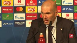 VIDEO: Zidane Akui Madrid Tampil Buruk Usai Ditekuk PSG