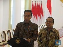 Jokowi: Wiranto Sudah Membaik, Ingin Segera Pulang Ikut Ratas