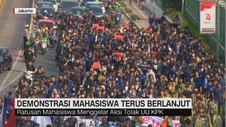 VIDEO: Demonstrasi Mahasiswa Terus Berlanjut