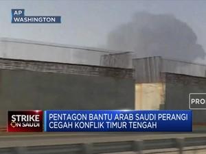 Pentagon Bantu Arab Saudi Cegah Konflik Timur Tengah