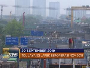 Tol Layang Jakarta - Cikampek  Beroperasi Nov 2019