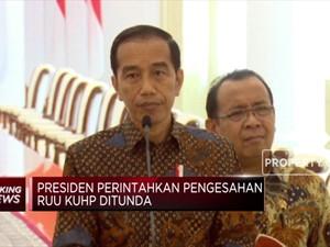 Presiden Jokowi Tunda Pengesahan RUU KUHP