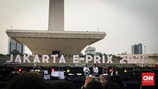 Biaya Sirkuit Formula E di Jakarta Capai Rp350 Miliar