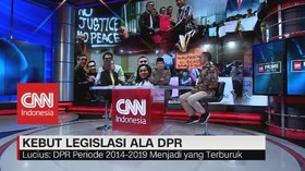 VIDEO: Kebut Legislasi Ala DPR