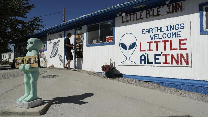 Para Pemburu Alien Ramai-ramai 'Serbu' Area 51, Ada Apa?