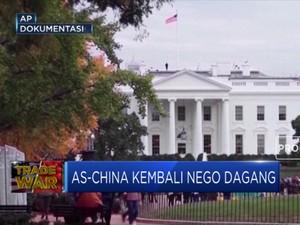 Akhirnya, AS-China Kembali Nego Dagang