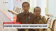 VIDEO: Presiden Jokowi Tanggapi RUU KUHP