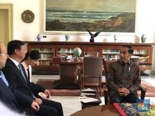 Jokowi Bertemu 'Anak Buah' Xi Jinping, Ada Apa?