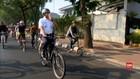 VIDEO: Pemprov DKI Uji Coba Fase Satu Jalur Sepeda