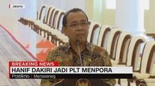VIDEO: Jokowi Tunjuk Menaker Hanif Dhakiri Jadi Plt Menpora