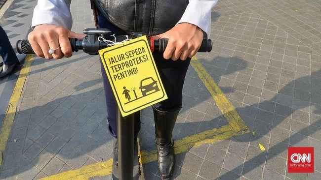 Dalam Sepekan Ada 653 Pelanggar Jalur Sepeda DKI Ditilang
