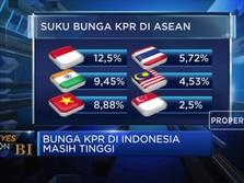 Di ASEAN, Bunga KPR Indonesia Ternyata Masih Tinggi