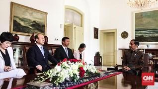 Jokowi Temui Utusan Xi Jinping di Istana Bogor