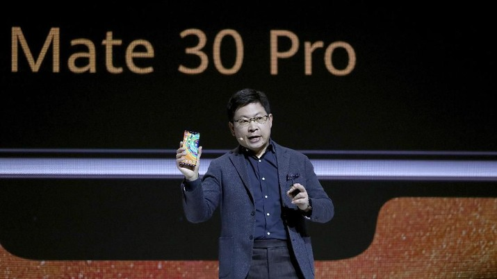 Huawei Technologies membawa ponsel Huawei Mate 30 Pro ke Indonesia setelah China dan Eropa. Ponsel ini dijual dengan harga Rp 12,5 juta.