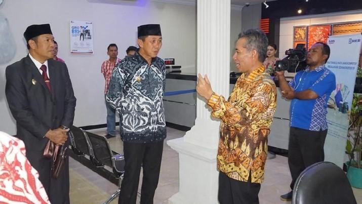 PT Bank Rakyat Indonesia Tbk (BBRI) meresmikan Kantor Cabang BRI Morowali, Sulawesi Tengah,