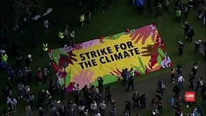 VIDEO: Puluhan Ribu Bocah Australia Ikut Demo Perubahan Iklim