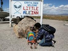 Gokil! Trump Disebut Tahu Soal Keberadaan Alien di Bumi