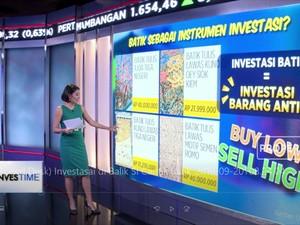 Investasi di Balik Si Cantik Batik
