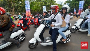 Kemenhub Kaji Aturan Konversi 'Honda Beat Jadi Motor Listrik'