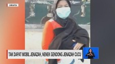 VIDEO: Tak Dapat Mobil Jenazah, Nenek Gendong Jasad Cucu