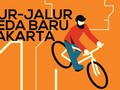 INFOGRAFIS: Peta Jalur Khusus Sepeda di Ibu Kota