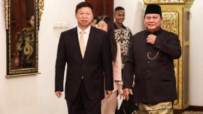 Setelah Jokowi, Utusan China Sowan ke Rumah Prabowo