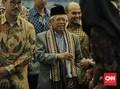 Ma'ruf Amin: Kabinet Jokowi Masih Disempurnakan