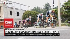 VIDEO: Pembalap Timnas Indonesia Juara Etape II