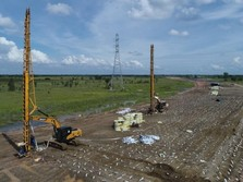 Hutama Karya Gunakan Vakum Bangun Tol Sumatera, untuk Apa?