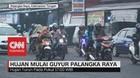 VIDEO: Hujan Guyur Palangka Raya, Tak Kurangi Kabut Asap