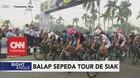VIDEO: Kabut Asap, Balap Sepeda 'Tour De Siak' Tetap Digelar