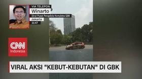 VIDEO: Viral Aksi Kebut-Kebutan, Begini Respon Pengelola GBK