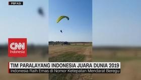 VIDEO: Tim Paralayang Indonesia Juara Dunia 2019