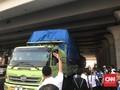Truk ODOL di Jalan Tol Kena Sanksi Tilang dan Putar Balik