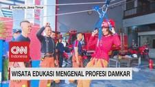 VIDEO: Wisata Edukasi Mengenal Profesi Damkar