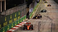 Vettel Menangi GP Singapura, Ferrari Finis 1-2