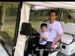 Video Jokowi Main dengan Jan Ethes Diprotes Netizen, Ada Apa?