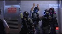 VIDEO: Polisi dan Pedemo Kembali Bentrok di Hong Kong