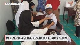 VIDEO: Menengok Fasilitas Kesehatan Korban Gempa