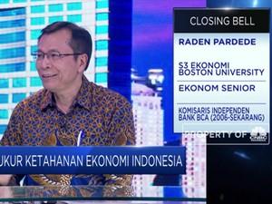 Raden Pardede : Laju PDB Dipangkas 5%, Indonesia Belum Resesi