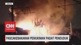 VIDEO: Kebakaran di Kampung Pesing Koneng Kebon Jeruk