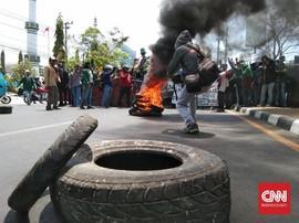 Gelombang Demo Mahasiswa Meluas Jelang Pelantikan Jokowi