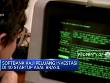 Softbank Kaji Investasi di 40 Startup Brasil