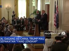 Trump Tuntut Nego Dagang Lebih Lengkap