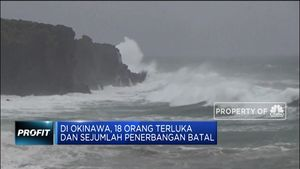 Badai Tapah Hantam Jepang