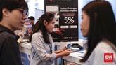 Acara ini juga akan menghadirkan lebih dari 100 pembicara dan menargetkan 20 ribu peserta untuk membahas berbagai isu penting terkait perkembangan industri fintech dan dampaknya terhadap masyarakat luas. (CNNIndonesia/Safir Makki).